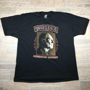Vintage Willie Nelson American Legend Men's Shirt